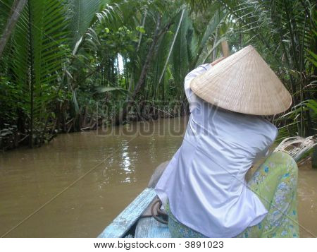 Rowing Down The Mekong