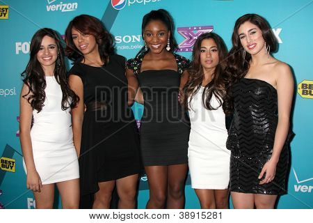 LOS ANGELES - NOV 5: 1432 - Ally Brooke, Camila Cabello, Normani Hamilton, Dinah Jane Hansen, Lauren Jauregui arrives at the X-Factor FInalist Party at SLS Hotel on November 5, 2012 in Los Angeles, CA