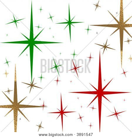 Multicolor Christmas Stars