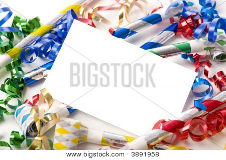 New Years Eve Or Birthday Party Invitation