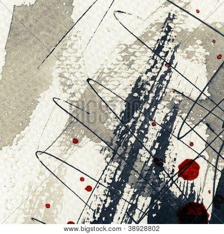 Abstract Grunge hintergrund, Tinte Textur.