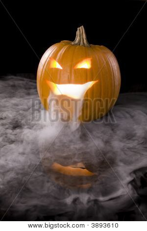 Misty Jack-O-Lantern