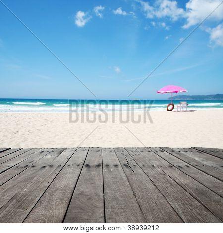 summer time in beach