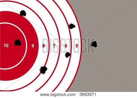 Target Shooting Illustration