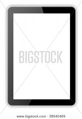 Black tablet Ipade