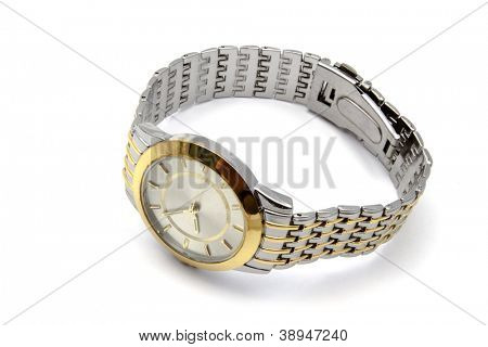Wristwatch - Isolated on white background