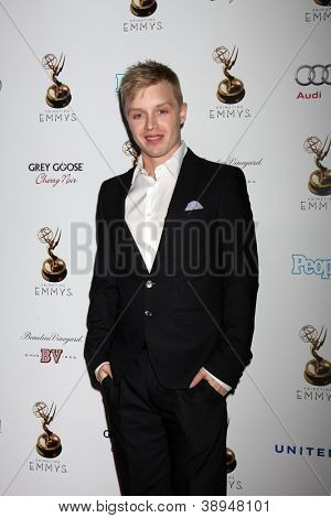 LOS ANGELES - SEP 21:  Noel Fisher arrives at the Primetime Emmys Performers Nominee Reception at Spectra by Wolfgang Puck on September 21, 2012 in Los Angeles, CA