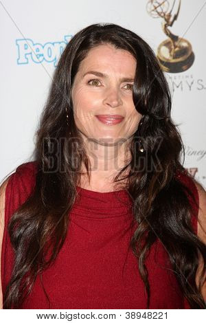 LOS ANGELES - SEP 21:  Julia Ormond arrives at the Primetime Emmys Performers Nominee Reception at Spectra by Wolfgang Puck on September 21, 2012 in Los Angeles, CA