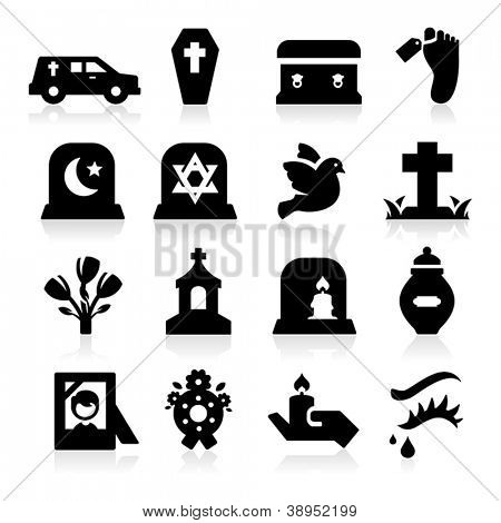 Funeral Icons