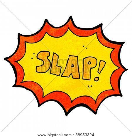 comic book slap sign
