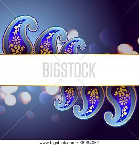 beautiful swastik vector background design