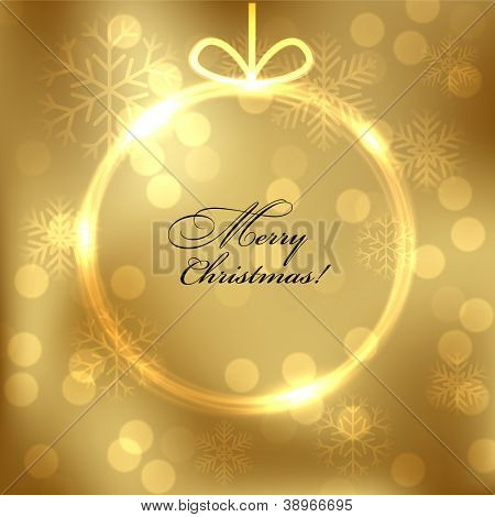 Abstract shiny christmas background. Vector eps10.
