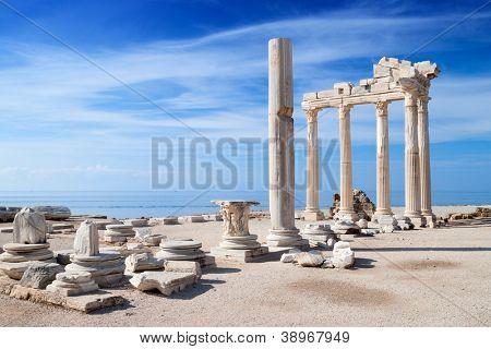 Temple of Apollo ancient ruins