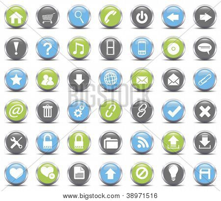 Web Icons set.Vector