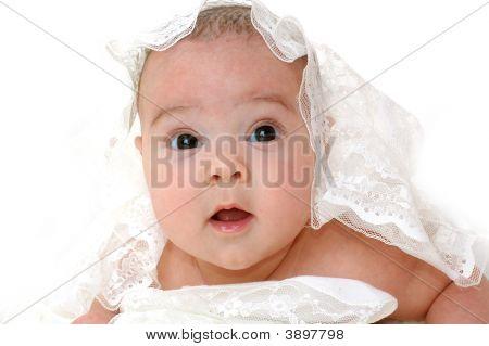 Close-Up Portrait Little Baby