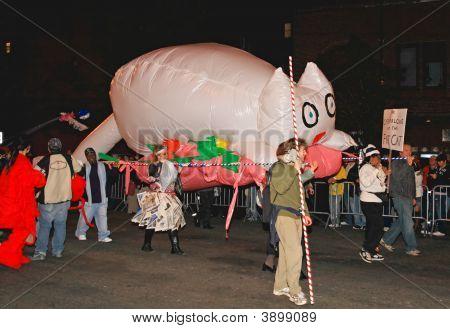 31. Oktober 2008, Manhattan die größte Halloween-Parade in der Welt