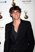 LOS ANGELES - SEP 21:  RJ Mitte arrives at the Primetime Emmys Performers Nominee Reception at Spect