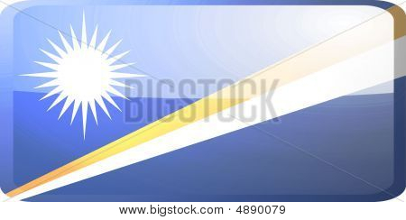 Flag Of Marshall Islands Button
