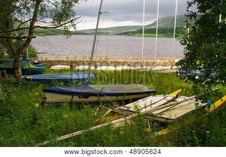 Over The Old Boat Yard To Torside Reservior