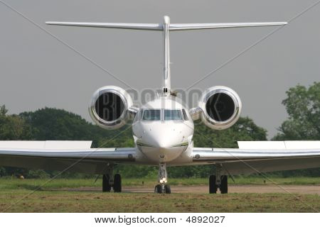 Gulfstream Executive Business Jet.