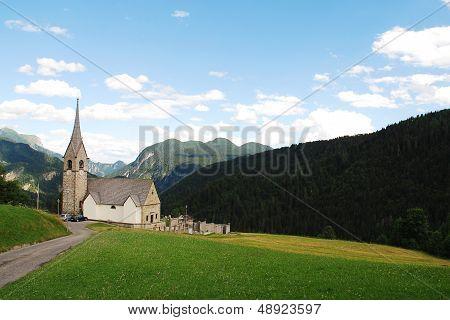 Chiesa Di San Lorenzo In Sauris