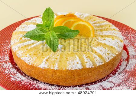Home Made Whole Testy Orange Cake