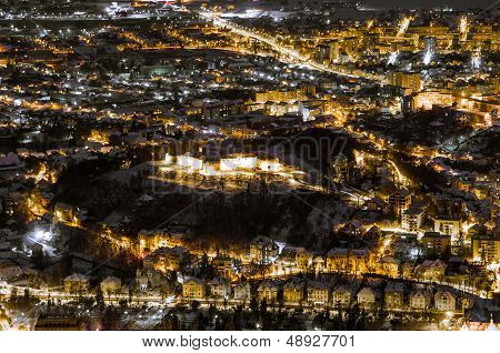 A night exposure over Brasov