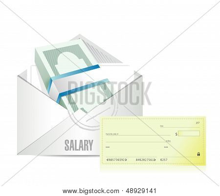 Salary Illustration Design