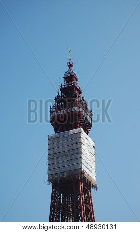 Blackpool tower repair