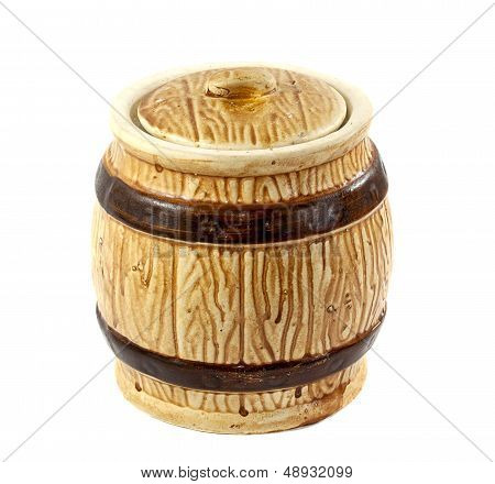 Barrel For Sugar Or Salt