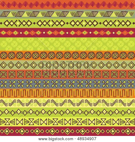 Ethnic Strips In Various Motifs And Colours