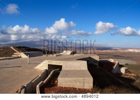 Golan Heights Rural Landscape