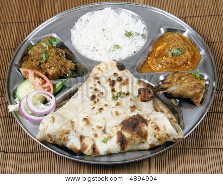 Chicken Thali Combo