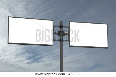 Blank Billboard, Add Your Message