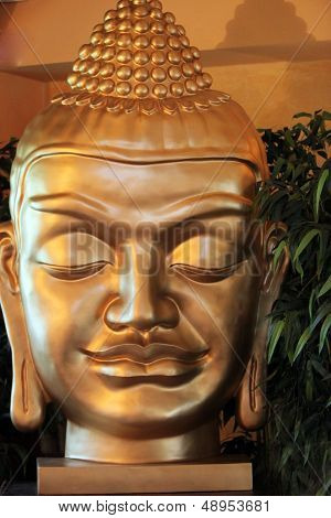 Face Of A Buddha Statue