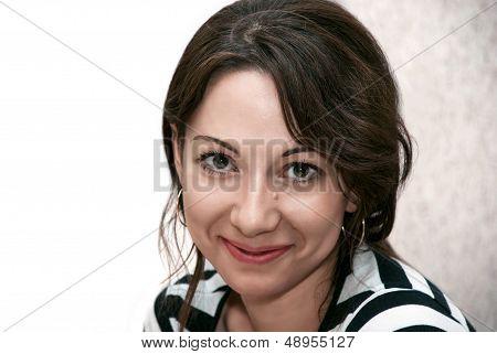 Attractive Caucasian Woman
