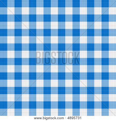 Blue Table Cloth
