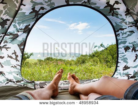 Paradise In Tent