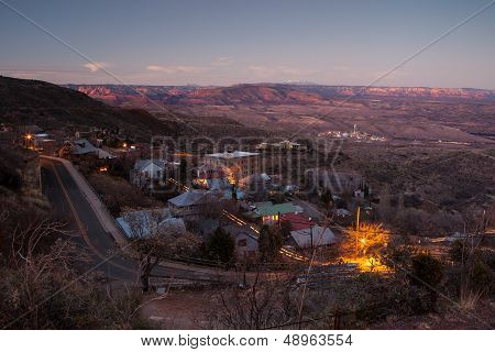 Jerome At Dusk