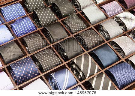 Ties On Display