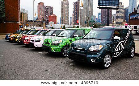 New York City, April 10, 2009: Ny International Auto Show