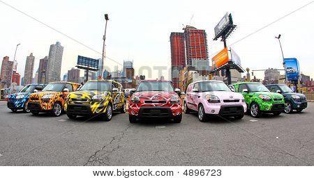 Nova Iorque, 10 de abril de 2009: Ny internacional Auto Show