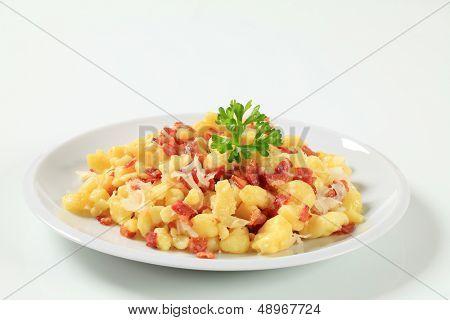 Albóndigas de patata eslovaco