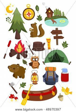 Camping Vector Set.eps