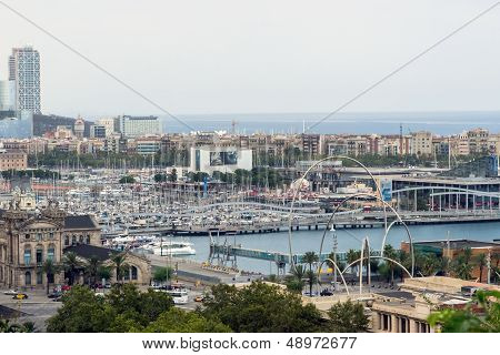 Port Vell Of Barcelona