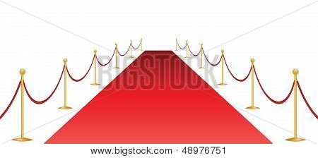 Red Carpet And Stantion