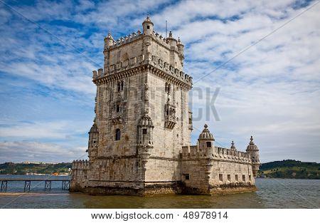 Belem Tower (torre De Belem) In Lisbon