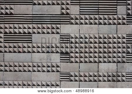 Geometric Tiles Texture Background