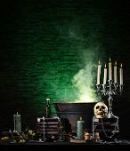picture of witchcraft  - Halloween still - JPG
