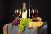 stock photo of grape  - Wine - JPG